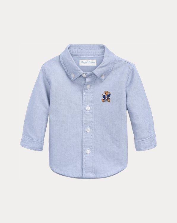 Chemise Oxford pour bébé