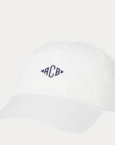 Unisex Monogram Baseball Cap