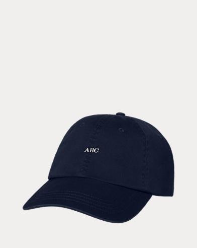 Cappellino baseball con monogramma