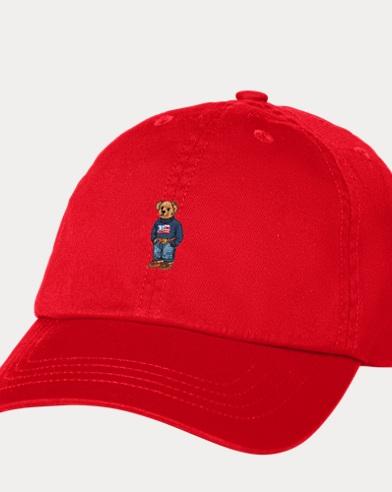 Boy's Bear Baseball Cap