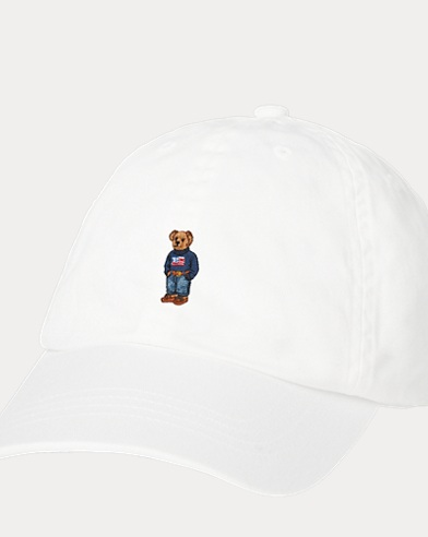 Girl's Bear Baseball Cap