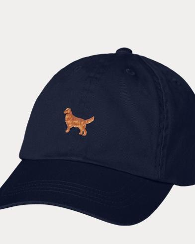 Cappellino da baseball con cagnolino per bambina
