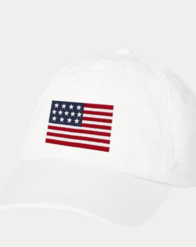 Cappellino da baseball con bandiera per bambina