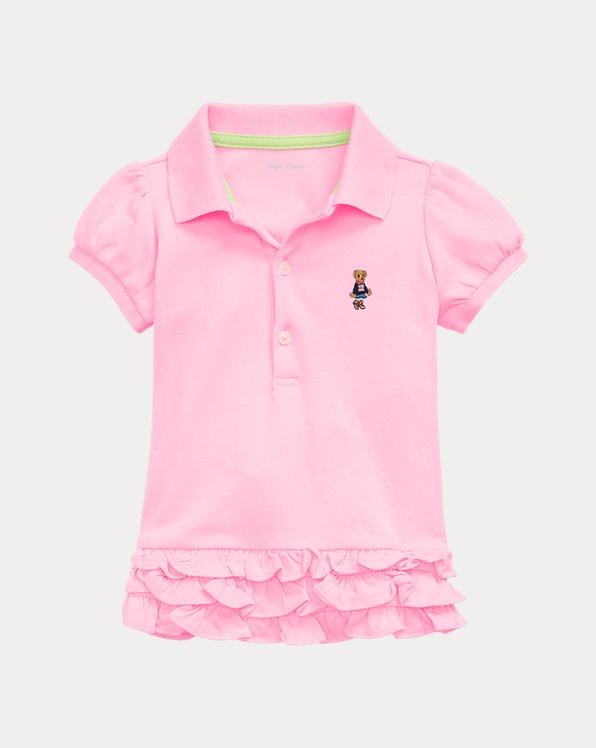 Baby Girl Polo Dress & Bloomer