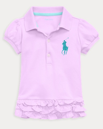Baby Girl Big Pony Polo Dress