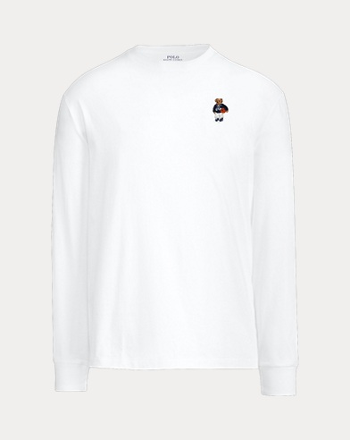 Men's Custom Martini Bear T-Shirt