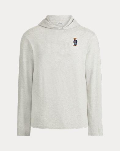 Men's Bear Hooded T-Shirt