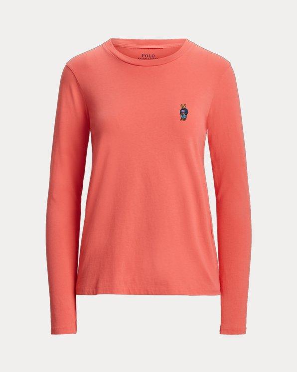 Maglietta girocollo donna in jersey