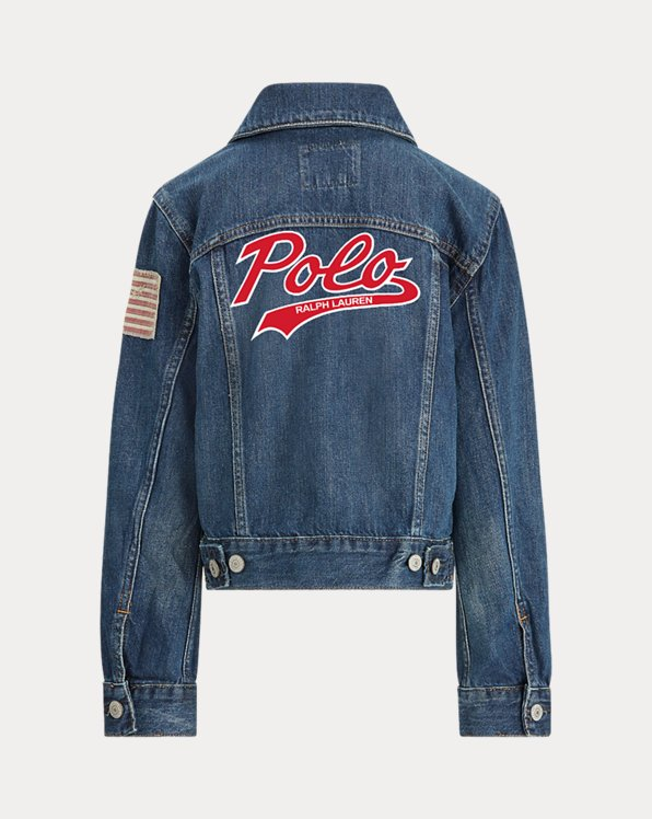 Boys' Denim Trucker Jacket