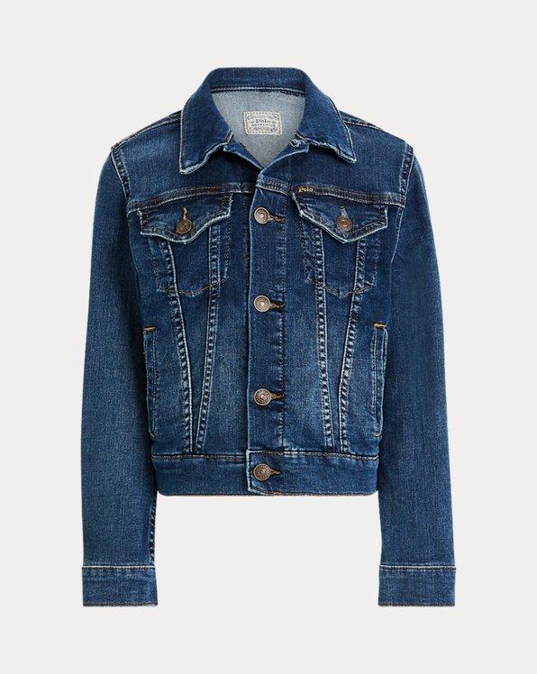 Girls' Denim Trucker Jacket