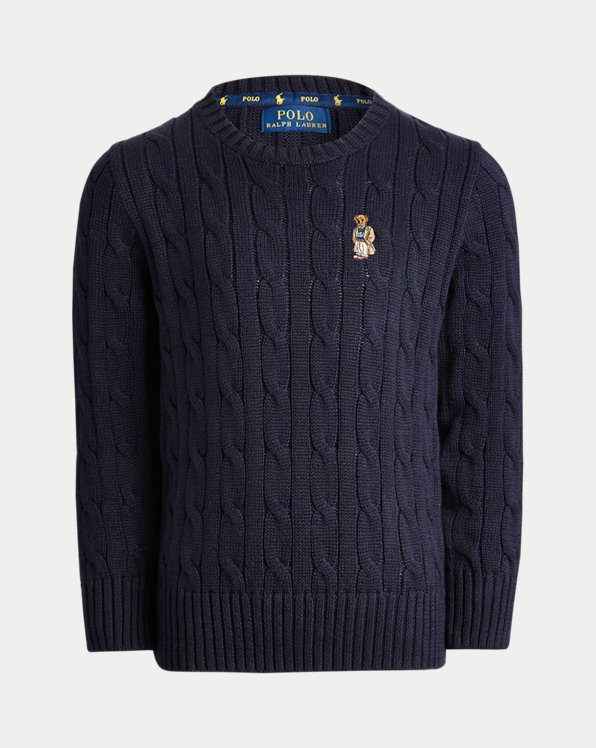 Boys' Cable Cotton Jumper