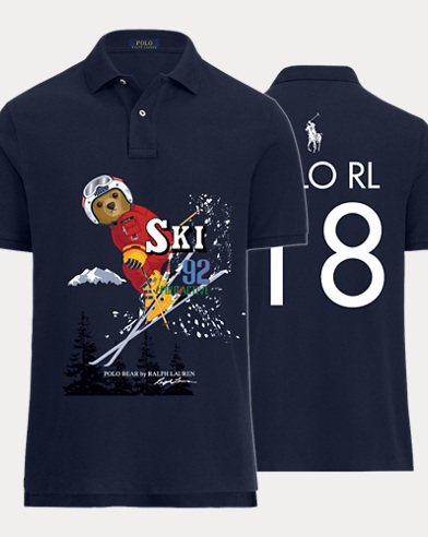Men's Downhill Ski Polo Shirt
