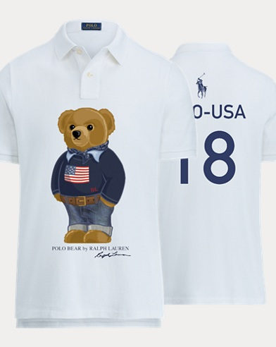 Men's Bear Polo Shirt