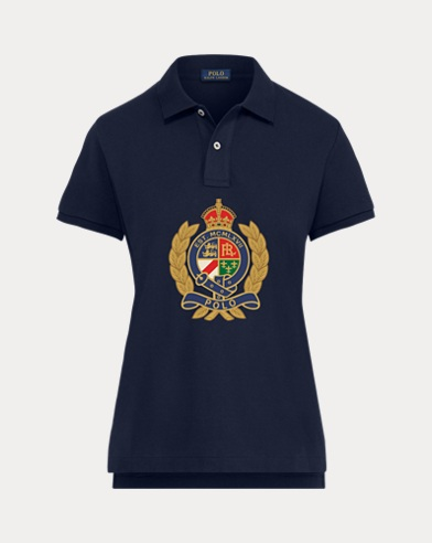 Women's Preppy Bear Polo Shirt