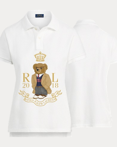 Women's Scholar Bear Polo Shirt