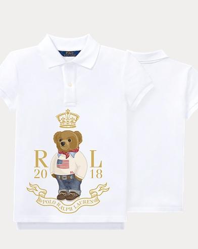 Big Girl Sweater Bear Polo Shirt