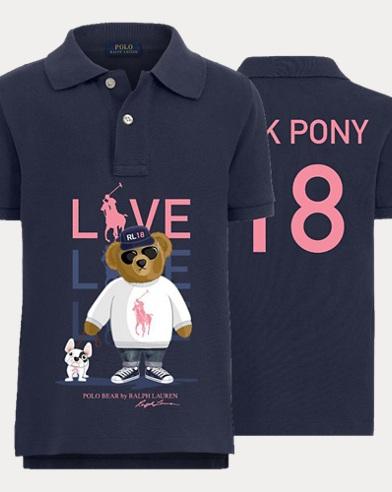 Boy\u0027s Pink Pony Polo Shirt