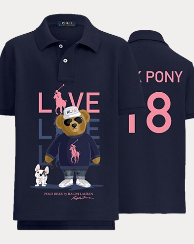 Boy's Pink Pony Polo Shirt