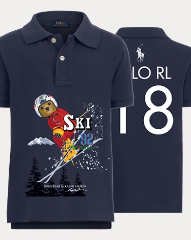 Boy's Downhill Ski Polo Shirt