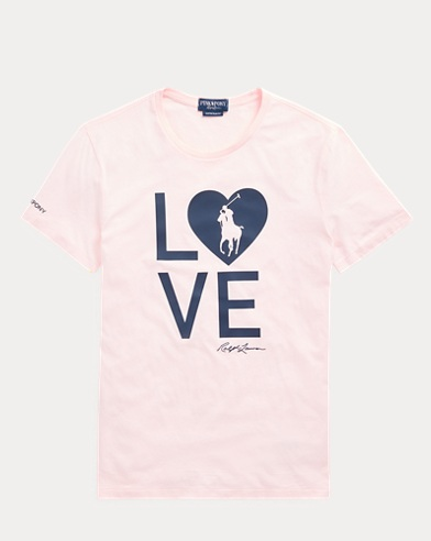 Men's Pink Pony Live Love T-Shirt