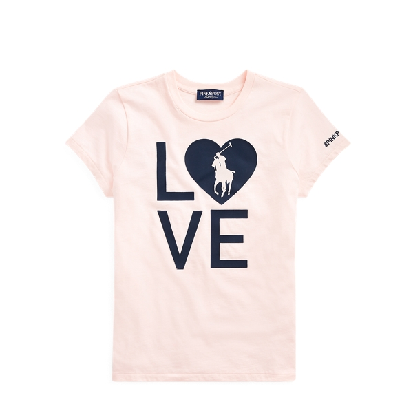 Women's Pink Pony Live Love Tee
