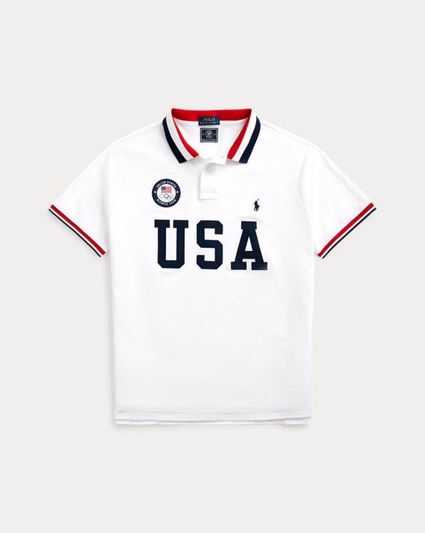 The Team USA Men's Polo Shirt