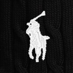 Polo Black/White Pp