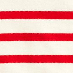Cream/Red