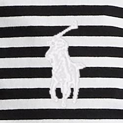 Polo-Schwarz/Weiß