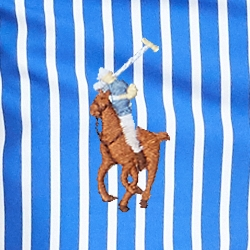 Neues Irisblau/Preppy-Bengal